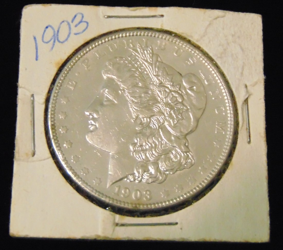 Morgan US Silver Dollar 1903