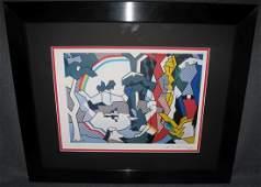 Roy Lichtenstein Signed Lithograph