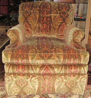 UPHOLSTERED LOUNGE CHAIR by TAYLOR KING