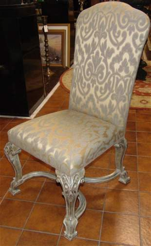Set of 6 UPHOLSTERED DINING CHAIRS