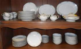 76 pc Noritake Dinnerware Set
