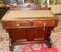 Large Antique Victorian Davenport Desk