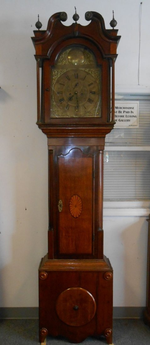 Antique English Grandfather Clock