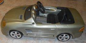 Vintage Childs Pedal Toy Mercedes Car