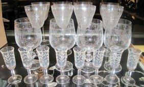 20 Misc Wine & Cordial Glasses