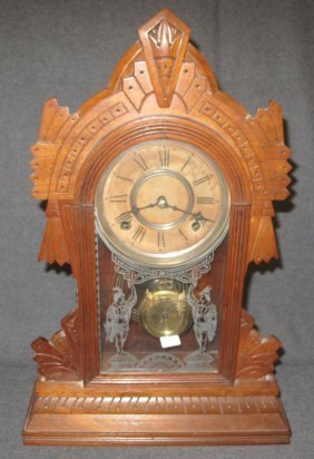 Antique Clock By Wm L. Gilbert Clock Co.