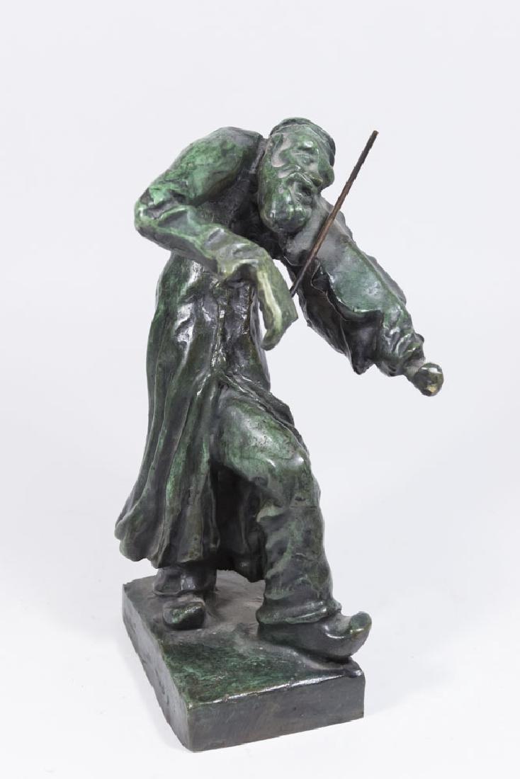 "After Issachar Ber Ryback, ""The Fiddler"""