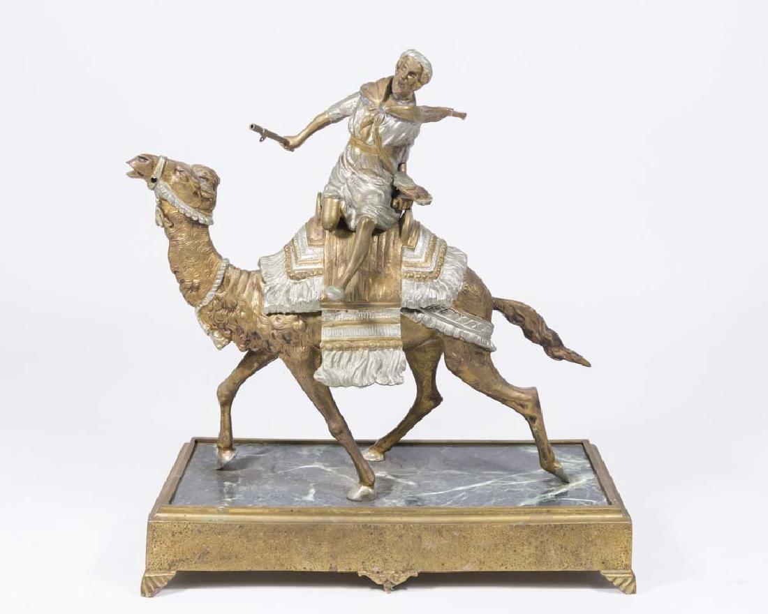 Metal Arab Figure on Camel
