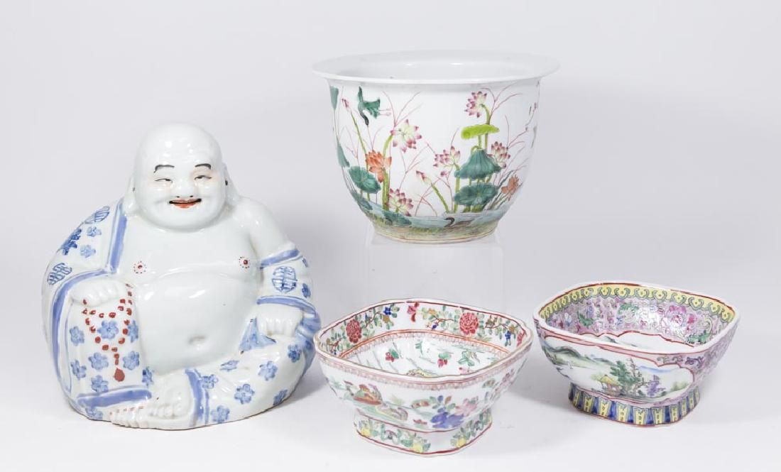 4 Chinese Porcelain Items