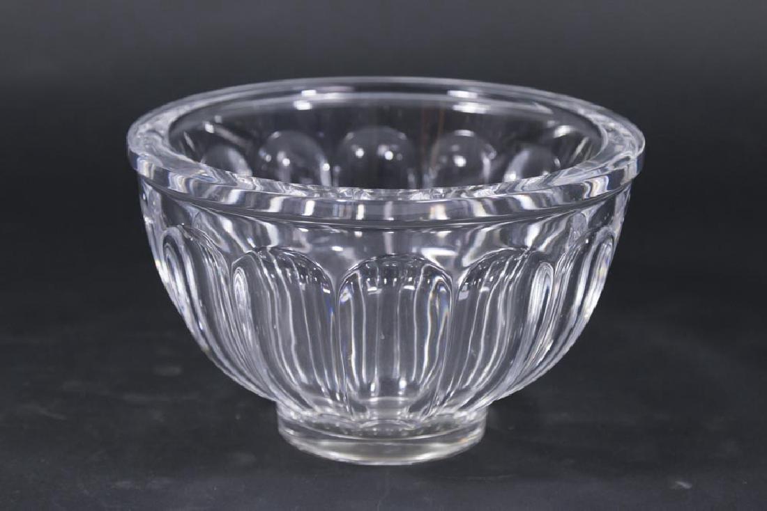 Orrefors Crystal Glass Bowl