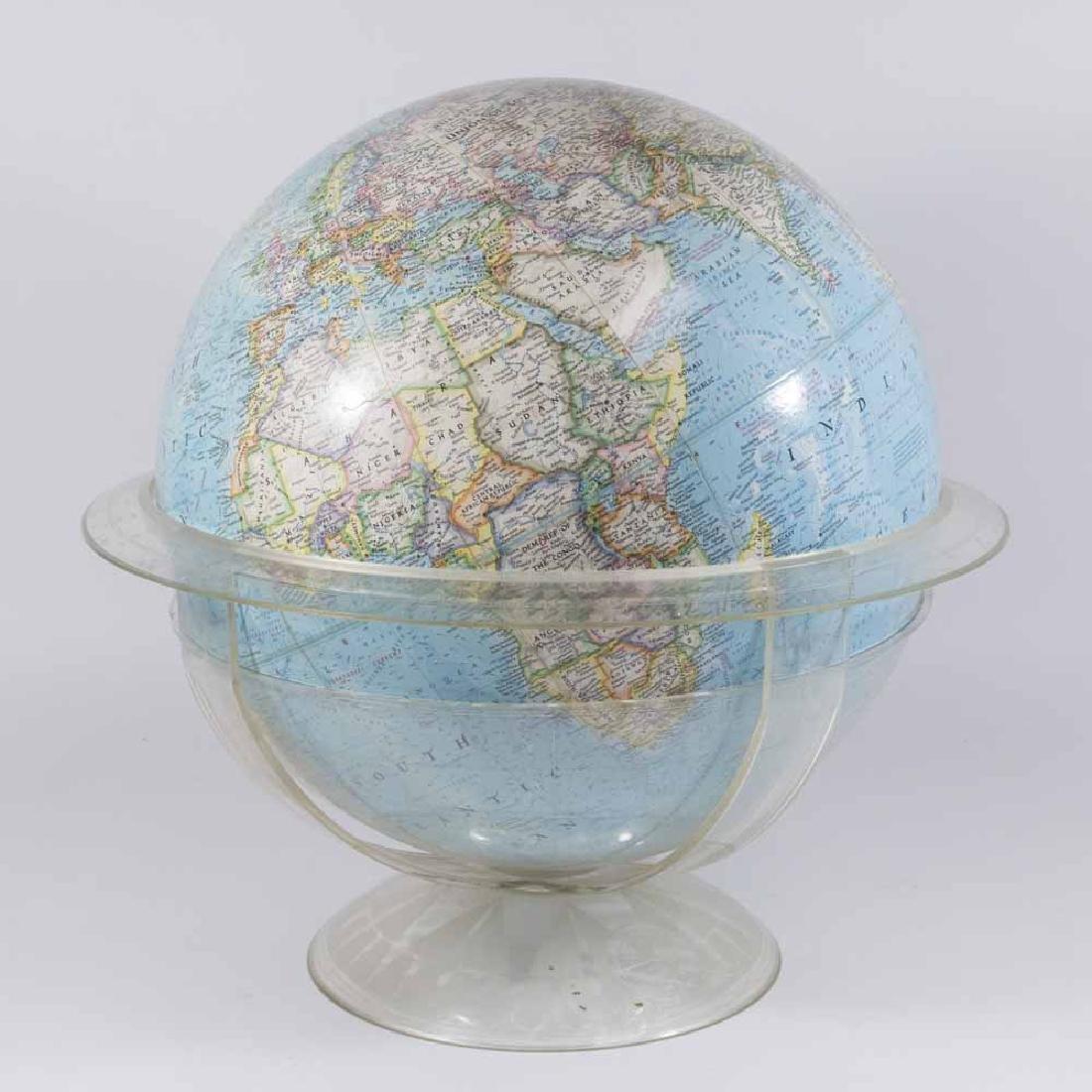 """National Geographic Society"" World Globe"