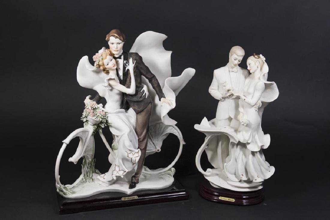 2 Giuseppe Armani Porcelain Groupings
