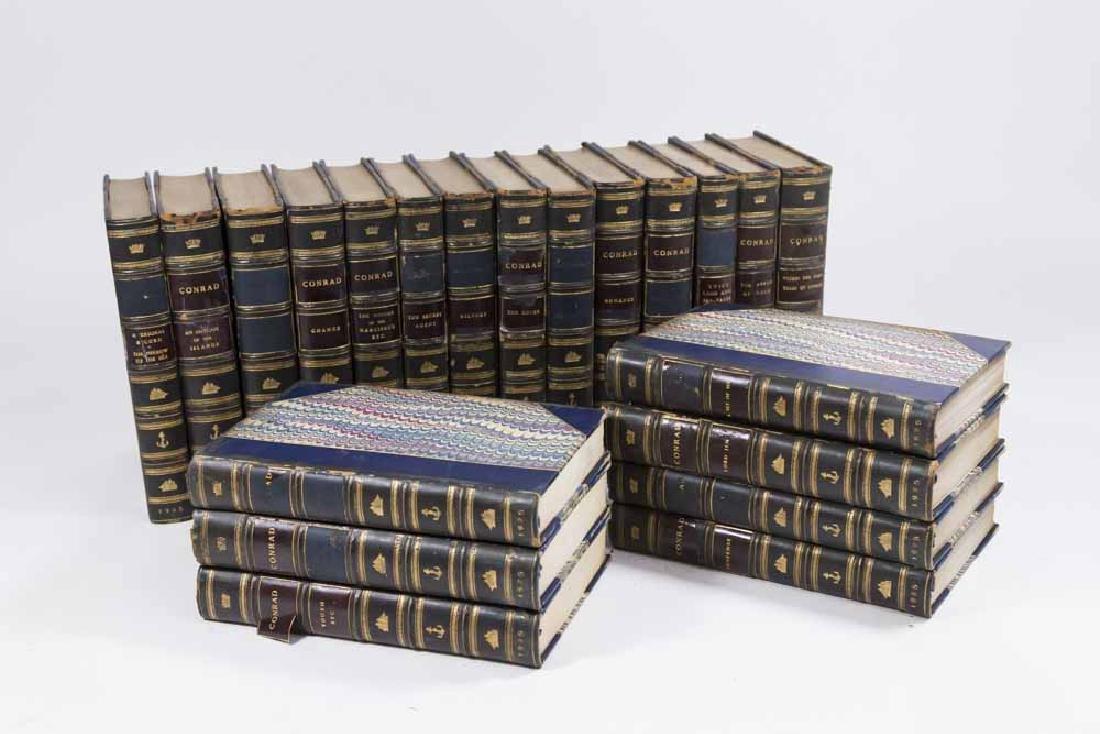 21 Leather Bound Books