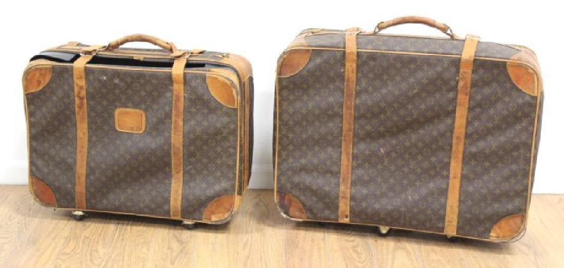 2 Louis Vuitton Suitcases