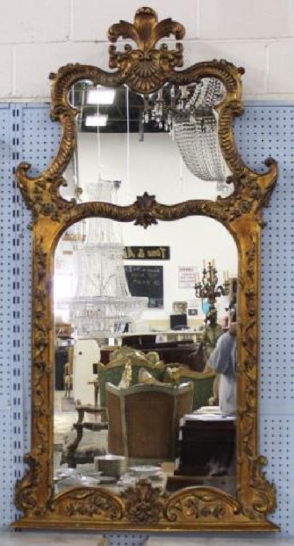 :Gilt Carved Mirror