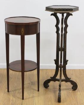 2 Georgian Style Pedestals