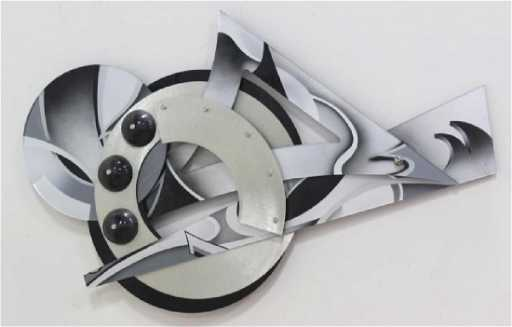 Shlomi Haziza Modern Acrylic Wall Sculpture