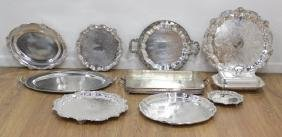 10 Silverplate Pieces