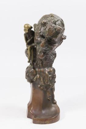 Roland Paris, Bronze Satyr & Nymph