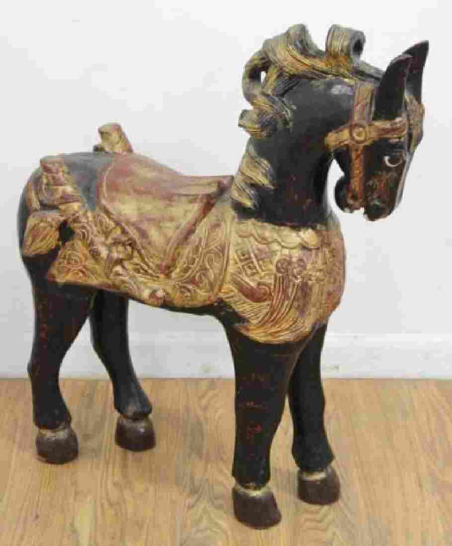 :Polychrome Chinese Horse
