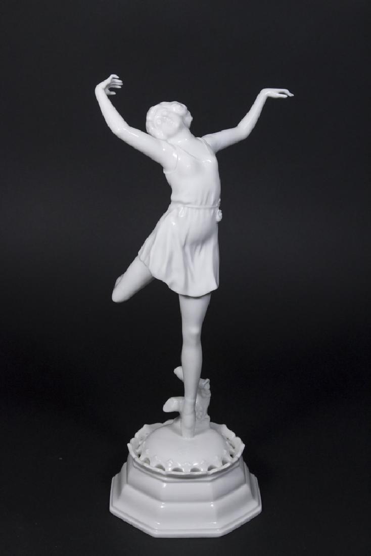 Rosenthal Porcelain Frog Blanc de Chine Dancer