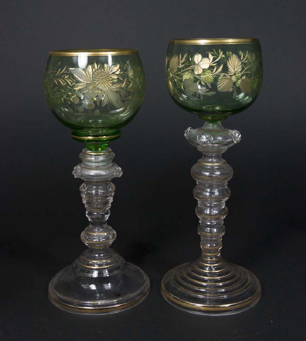 Crystal & Victorian Glasses - 3