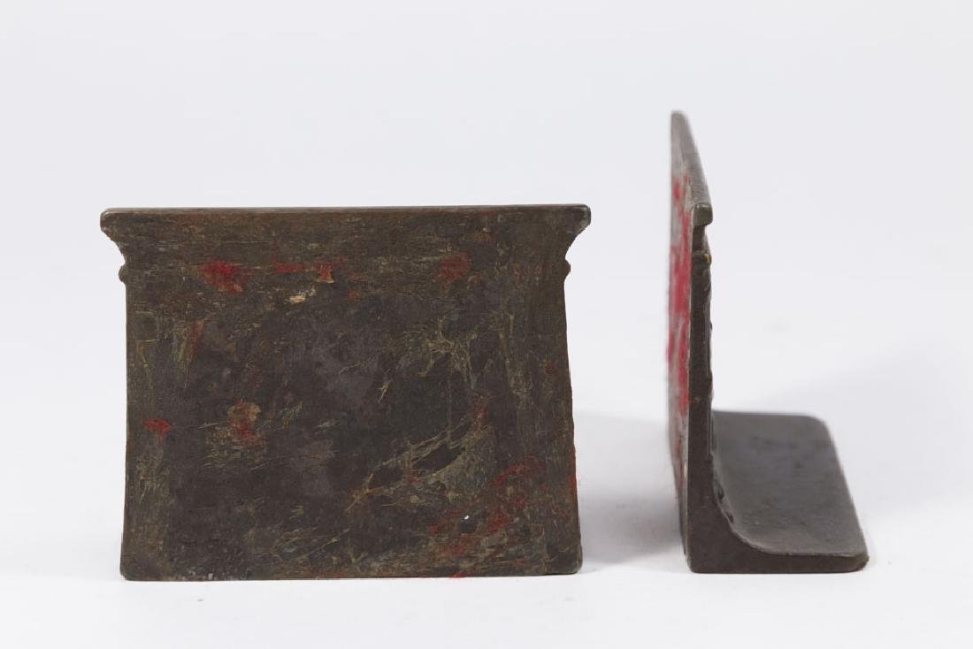 Sphinx Iron Bookends - 3