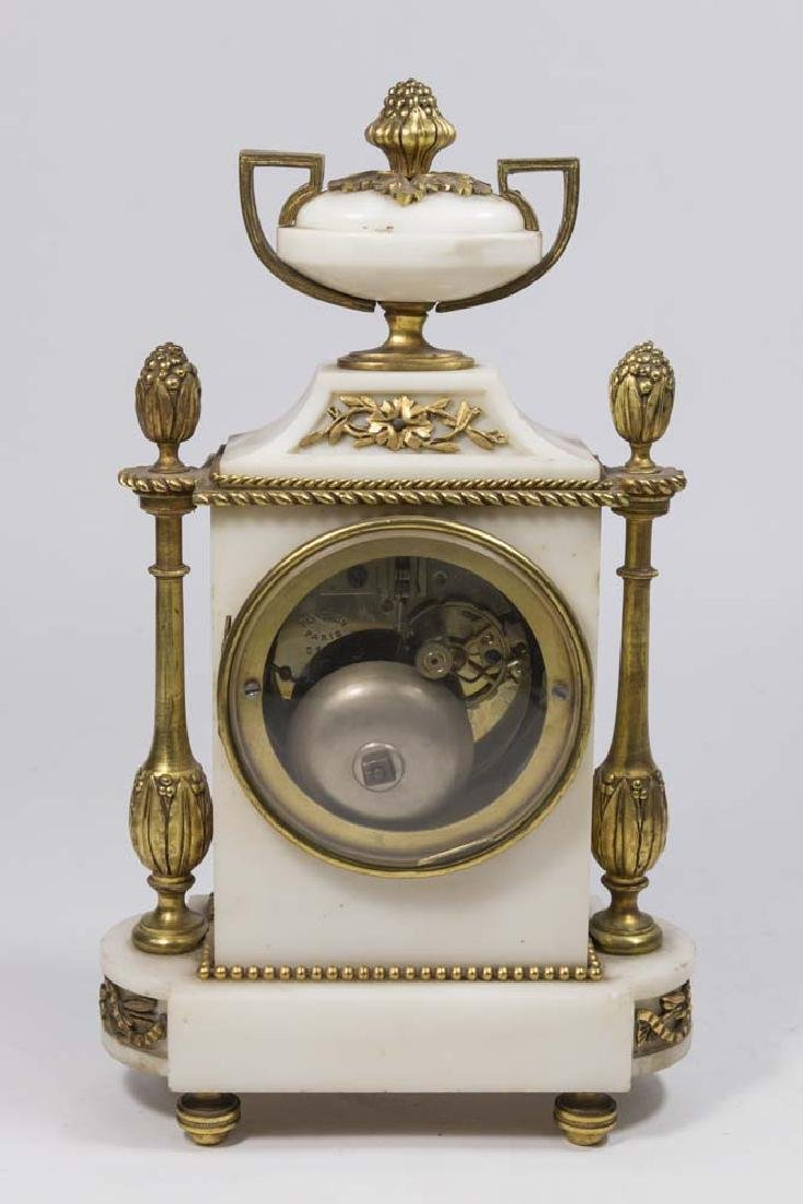 3 Piece 19th Century Clock Set - 6