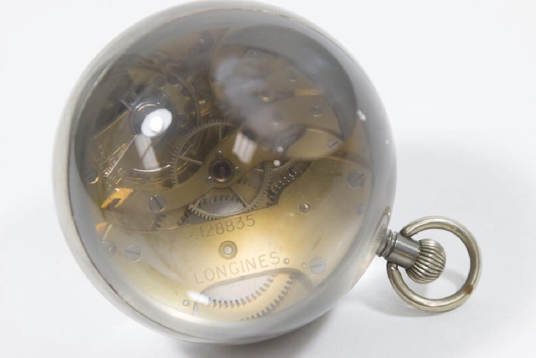 2 Crystal Ball Clocks, Gruen Verithin & Longines - 2
