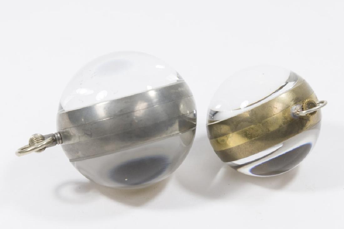 2 Crystal Ball Clocks, Gruen Verithin & Longines - 4