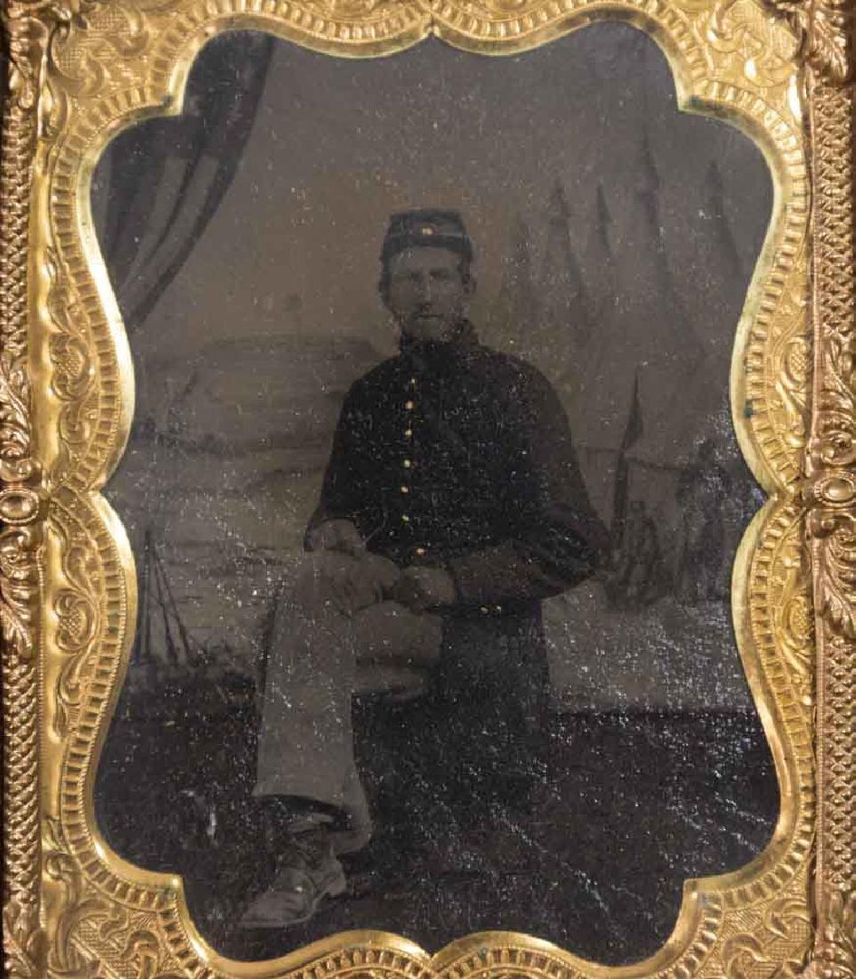 5 Civil War Era Daguerreotypes - 5