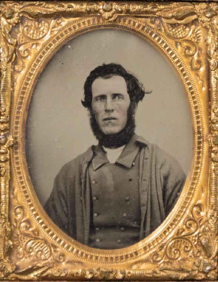 5 Civil War Daguerreotypes of Confederate Soldiers - 2