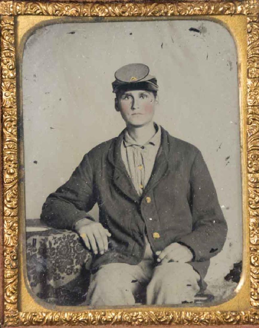 5 Civil War Daguerreotypes of Confederate Soldiers - 3