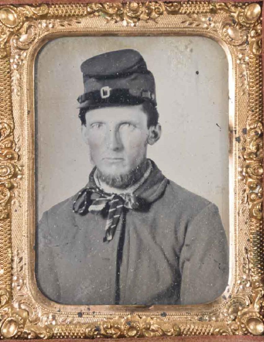 5 Civil War Daguerreotypes of Confederate Soldiers - 4