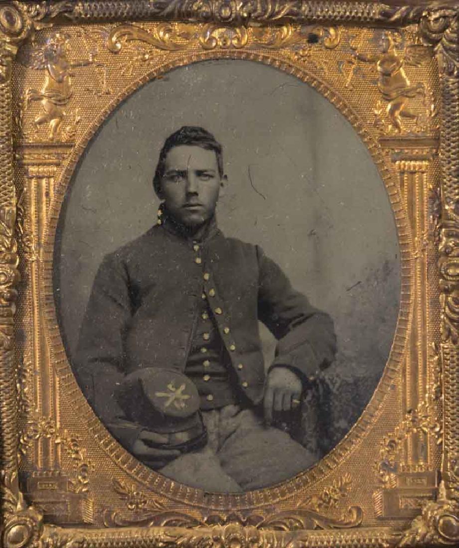 5 Civil War Daguerreotypes of Confederate Soldiers - 6