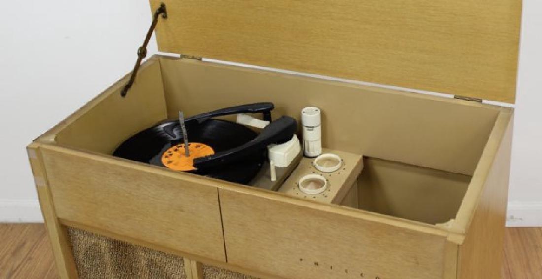 :Mid-Century Philco Record Player Cabinet - 2