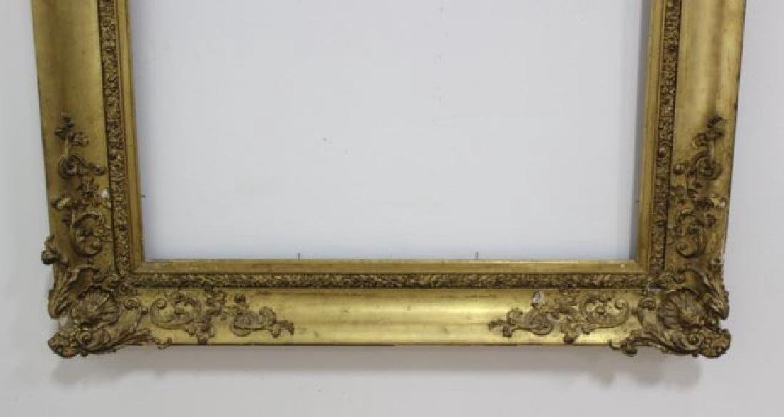 :19th Century Gold Leafed Frame - 3