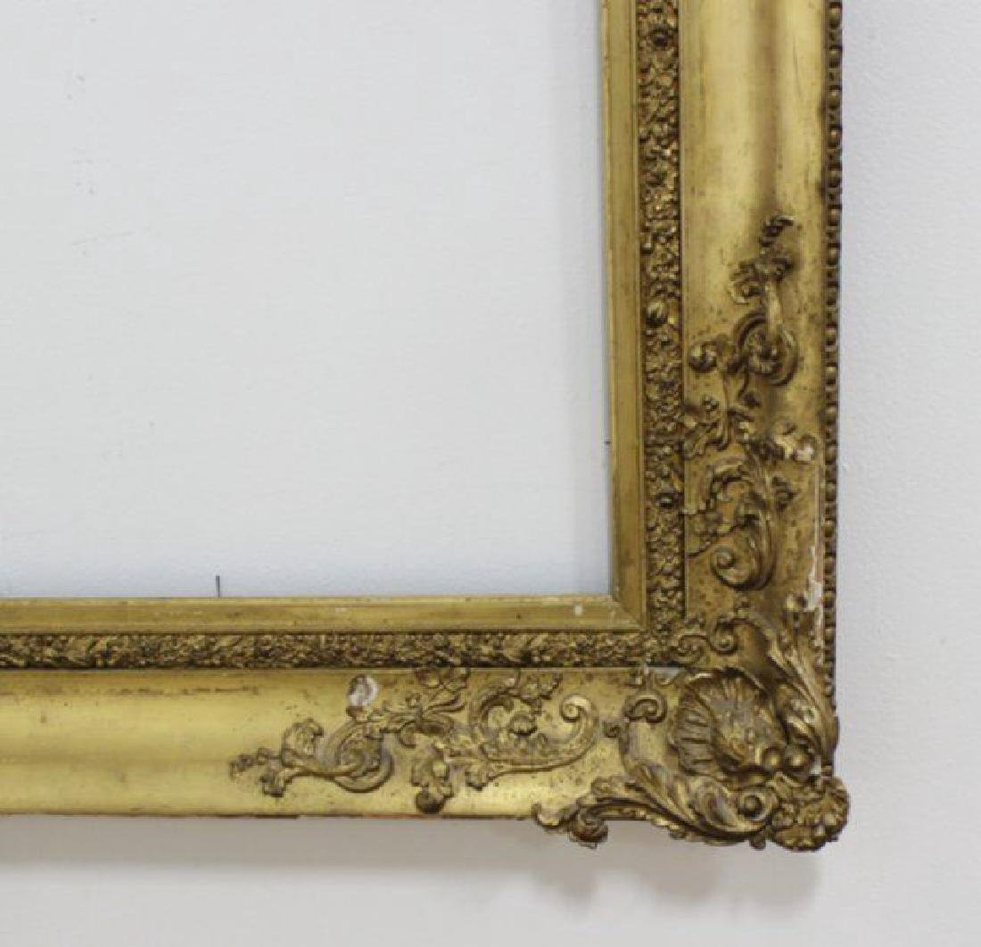 :19th Century Gold Leafed Frame - 4