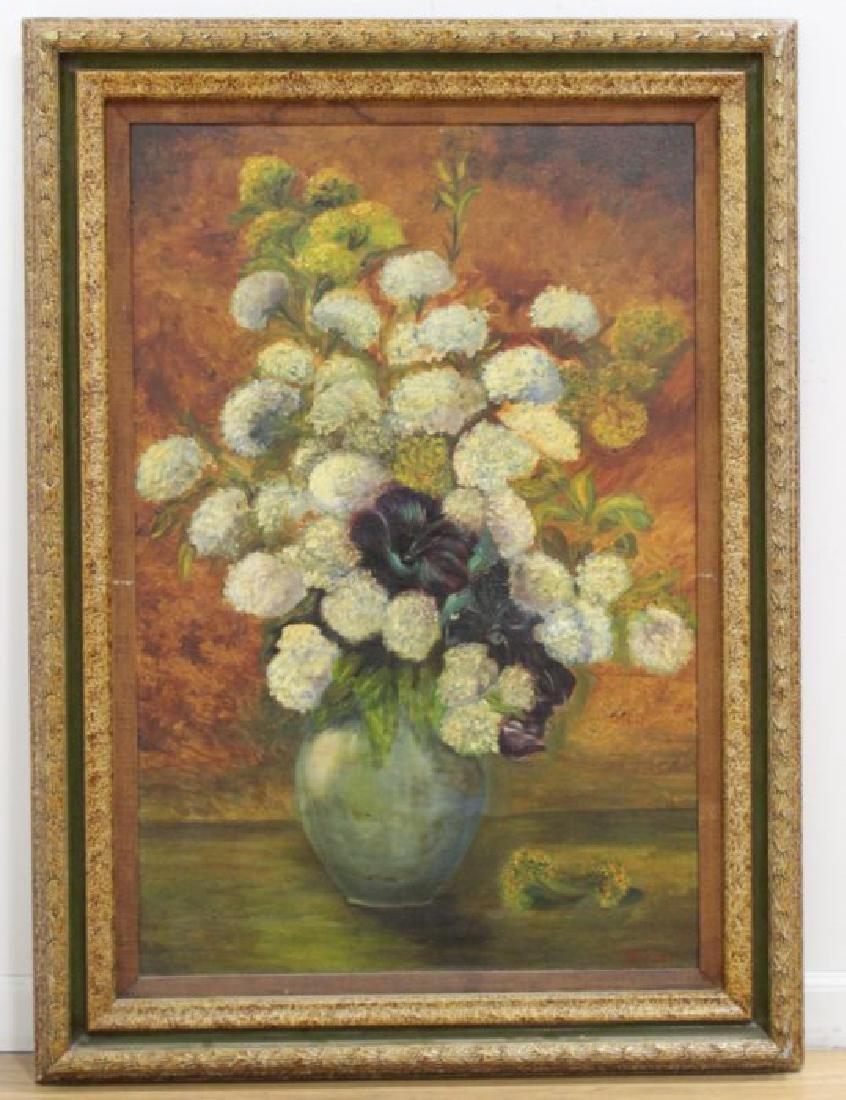 Still Life, Flowers in Urn