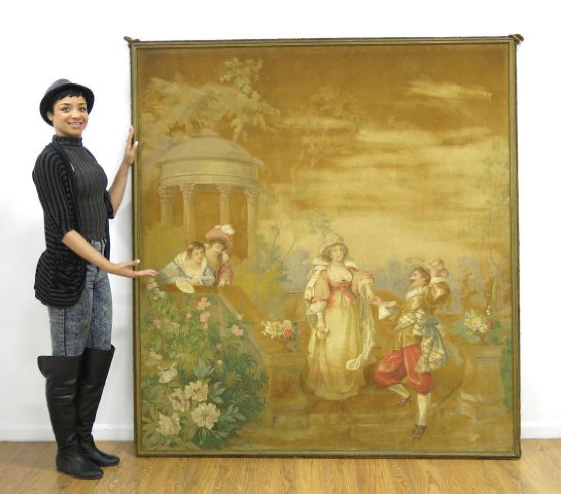 :Framed Cartoon for a Tapestry