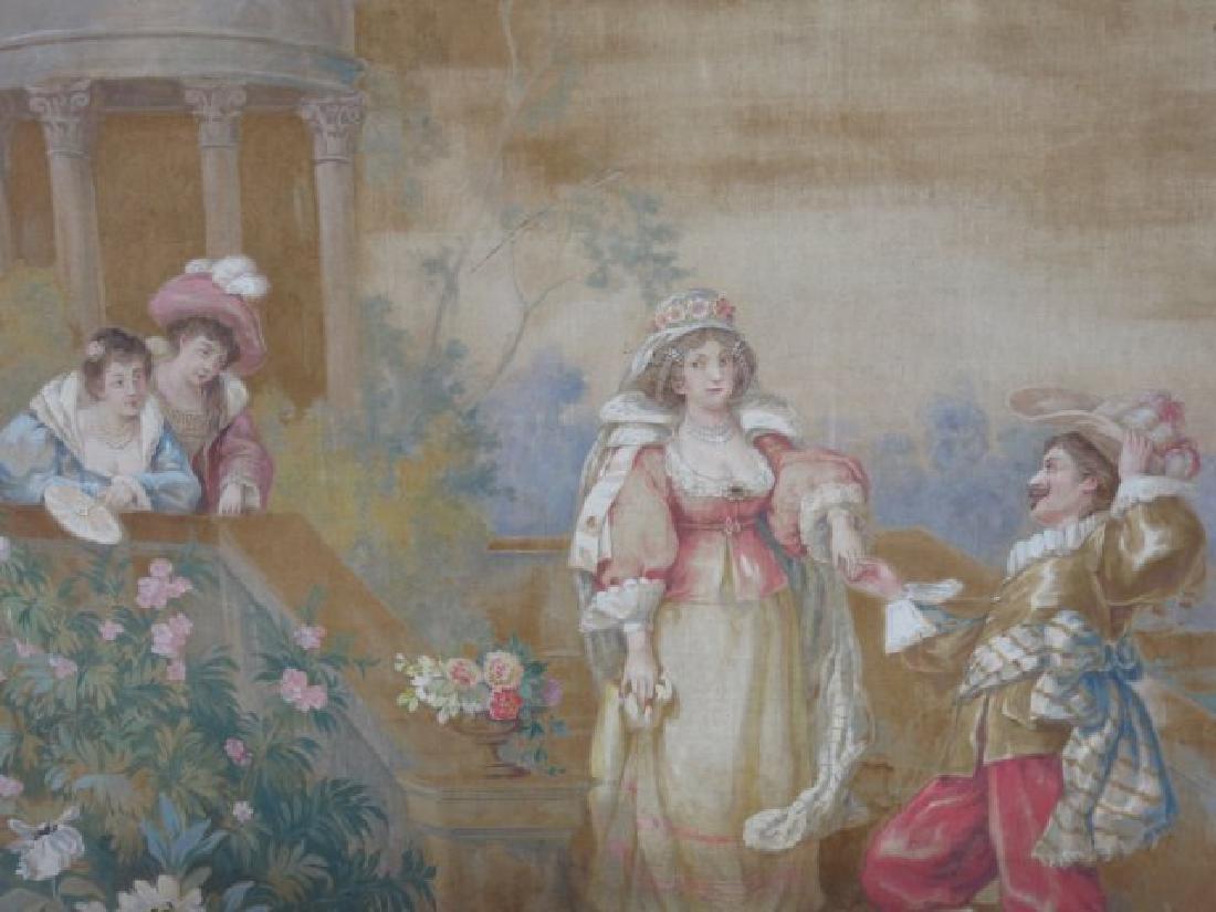 :Framed Cartoon for a Tapestry - 3