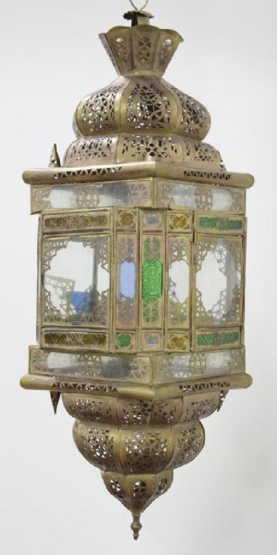 Orientalist Brass Hall Light