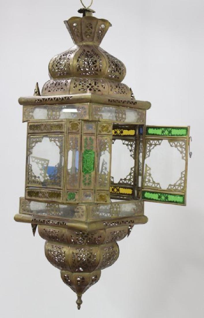 Orientalist Brass Hall Light - 2