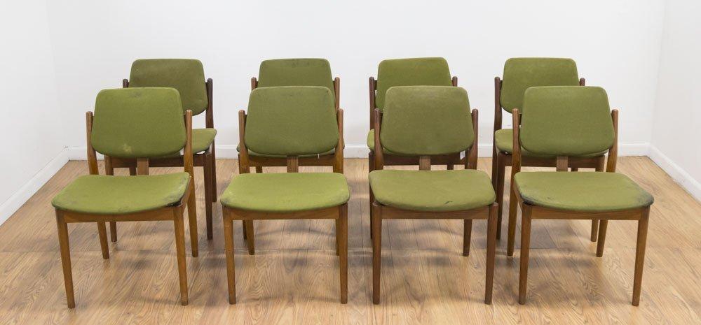 Set 8 Arne Vodder Teak Dining Chairs