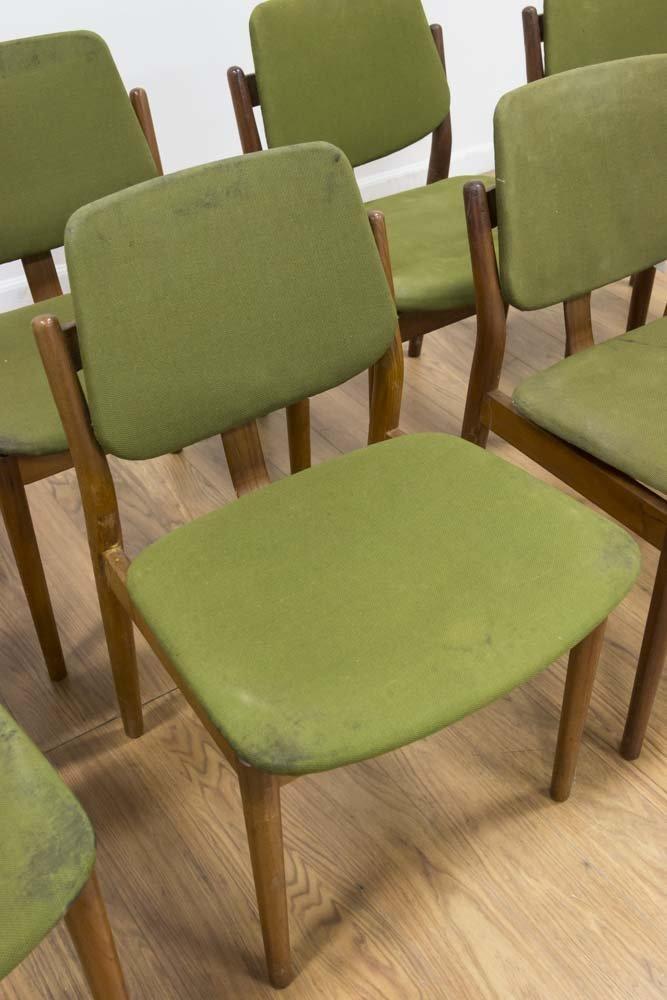 Set 8 Arne Vodder Teak Dining Chairs - 2