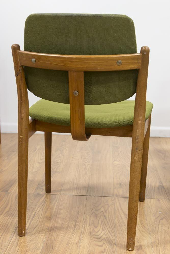 Set 8 Arne Vodder Teak Dining Chairs - 3