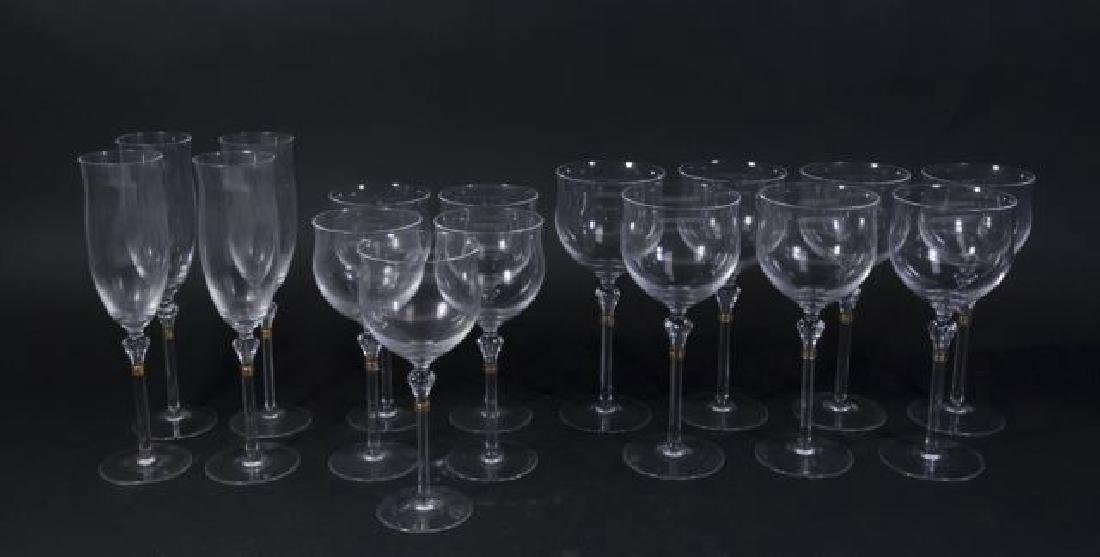 :14 Christian Dior Wine, Champagne & Water Glasses