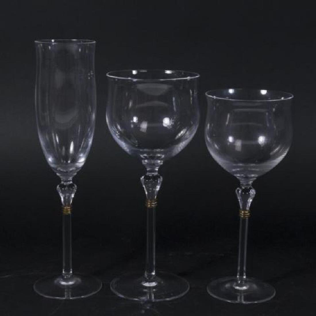 :14 Christian Dior Wine, Champagne & Water Glasses - 2