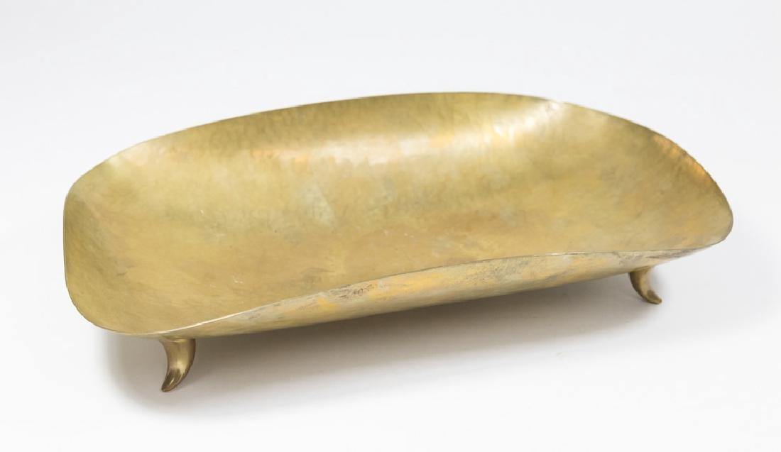 Hagenauer Footed Tray & Bronze Card Tray - 2