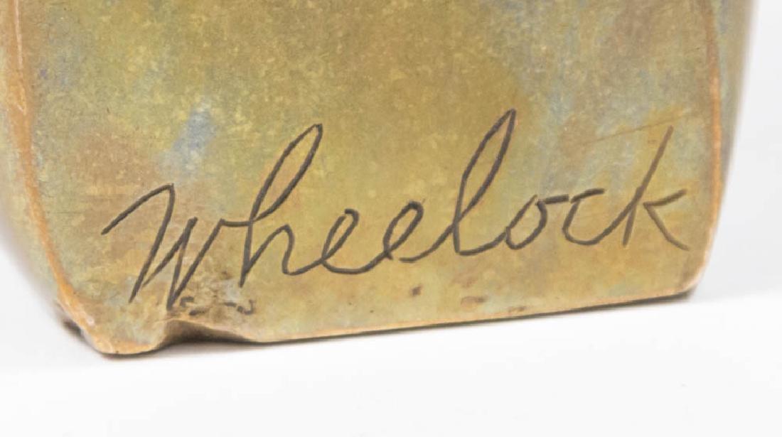 Hagenauer Footed Tray & Bronze Card Tray - 5